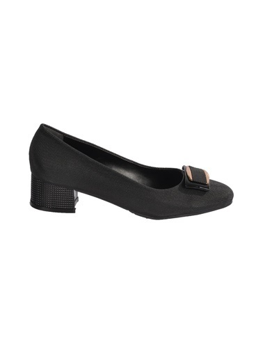 Maje 6032 Siyah Sultan Kadın Topuklu Ayakkabı Siyah